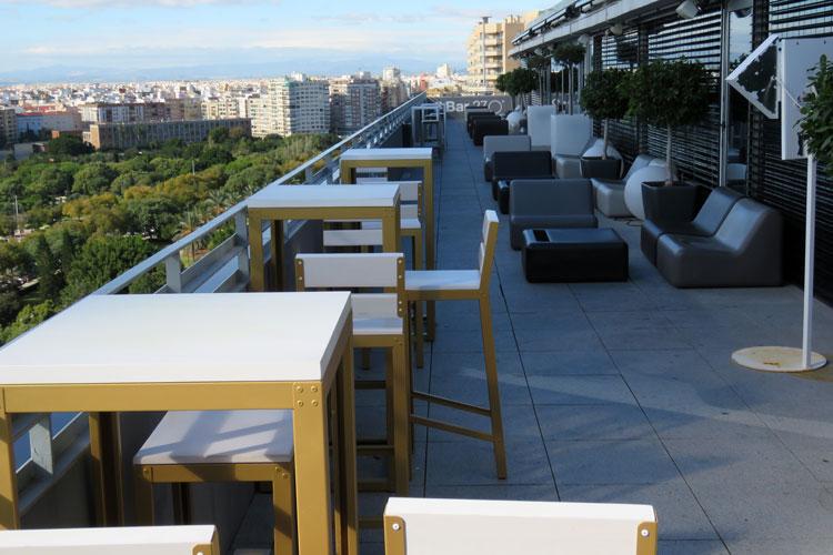 270 Degrees Sky Rooftop Bar Valencia