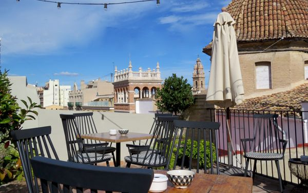 Petit Bistro Rooftop Valencia Spain