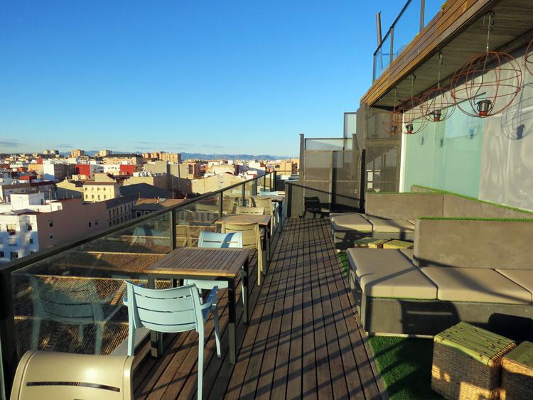 Terrace Atarazans Rooftop