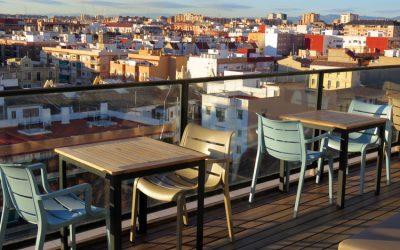 Rooftop Terrace – Hotel Marina Atarazanas Valencia
